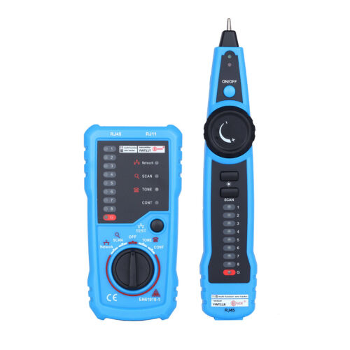 RJ11 RJ45 Telephone Network Wire Tracker LAN Cable Tester Detector Line Finder