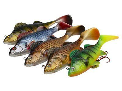 D.A.M Effzett Natural Perch 14cm 35g Slow sinking Soft bait COLOURS