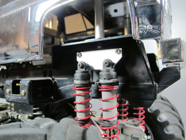 New Aluminum Lift Plate Kit for Tamiya RC 1/10 Super ClodBuster Bullhead Truck