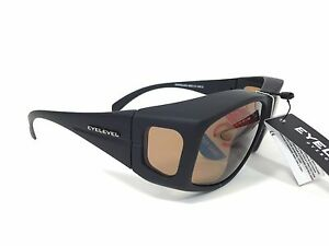 Eyelevel-Sunglasses-OVERGLASSES-Soft-Touch-UV100-58mm-Medium-Bronze-Lens