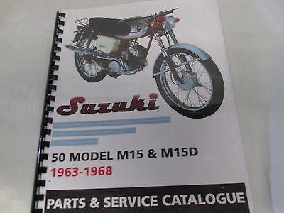 Suzuki RL250  parts /& service combo  manual   1975-1976