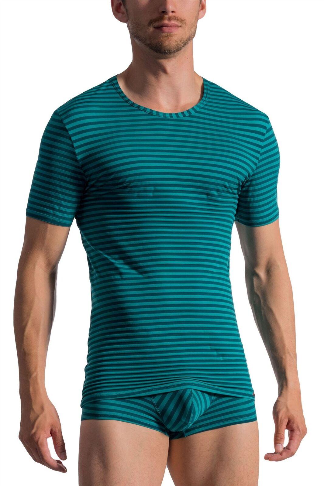 Olaf Benz rot 1761 T-Shirt Stripe Top Designer (Matching Underwear Availible)