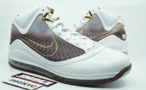 New Size granate 16 7 casa Christ Nike blanco King The Ctk Lebron oro de Muestra la 1wqwT4E