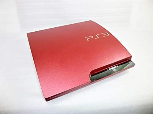 Sony Playstation 3 PS3 Scarlet Red Console Limited CECH-3000BSR Boxed Japan F/S
