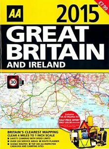 AA-2015-Great-Britain-amp-Ireland-UK-Road-Atlas-Map-Speed-Limit-Safety-Cameras