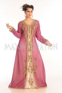 568a918839 Image is loading EMBROIDERED-CHRISTIAN-WEDDING-VEIL-TUNISIAN-CULTURAL-WALIMA -GOWN-