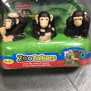 Fisher-Price Little People ZOO TALKERS KANGAROO FAMILY figure toy New in box