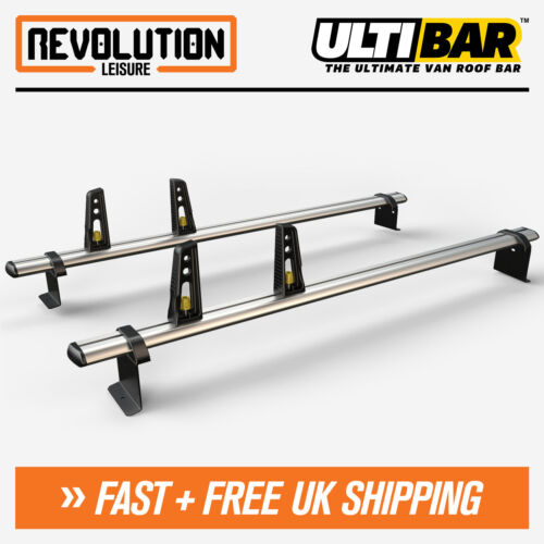 Ford Transit Connect Roof Rack Ladder Bars 2 x Van Guard ULTI Bar 2014+