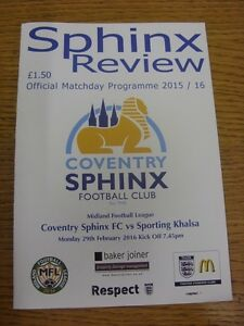 29-02-2016-Coventry-Sphinx-v-Sporting-Khalsa-Thanks-for-viewing-our-item-if
