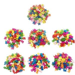 100Pcs-Mixed-Color-2-Holes-Wooden-Buttons-Sewing-Craft-Scrapbooking-DIY-Handmade