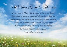 Memorial Bereavement Card to remember a special Nan on Mother's Day & FREEPOST