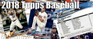 2018-Topps-Series-1-034-OPENING-DAY-034-insert-singles-OD-1-OD-30-YOU-PICK-FREE-SHIP