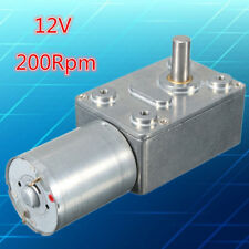 24v 10 RPM High-torque Drive PMDC Right Angle Geared Motor