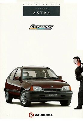UK VAUXHALL VECTRA EXPRESSION 1997 SPECIAL EDITION MODEL BROCHURE ...