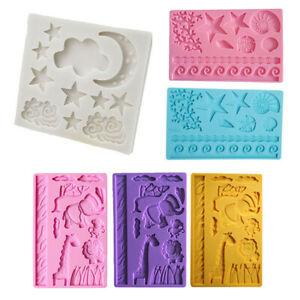 Silicone-Fondant-Cake-Mold-Mould-Chocolate-Baking-Sugar-craft-Candy-Decor-Tools