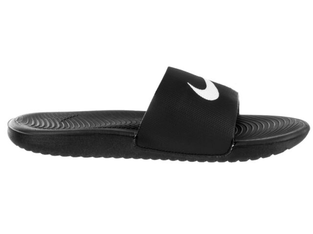 9f38c2345e1c64 Nike Men s Kawa Slide Black white Sandal 9 Men US for sale online