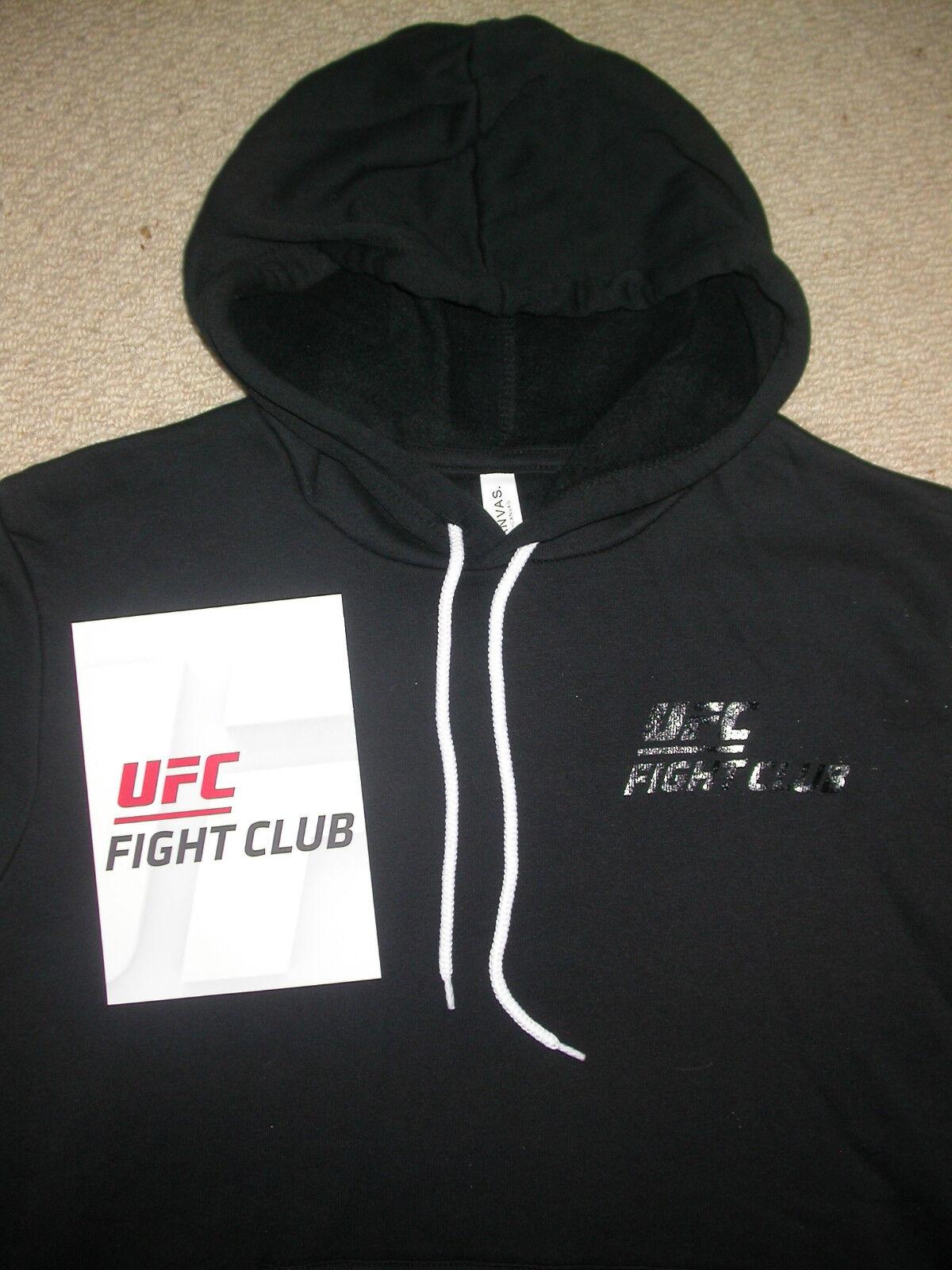 UFC FIGHT CLUB HOODED SWEATSHIRT LARGE L MMA KSW BJJ BOXING GYM CROSSFIT WWE NEW