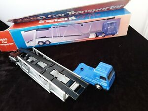 The-Esso-Collection-Car-Transporter-Lorry-orginal-Box-packaging-v-g-c-Vintage
