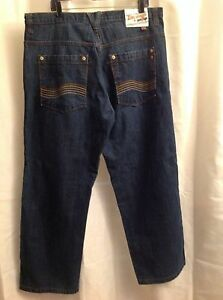 taille Co 5ive fonc bleu de hommes jambe droite pour Jeans Jungle ZUZPwpqA
