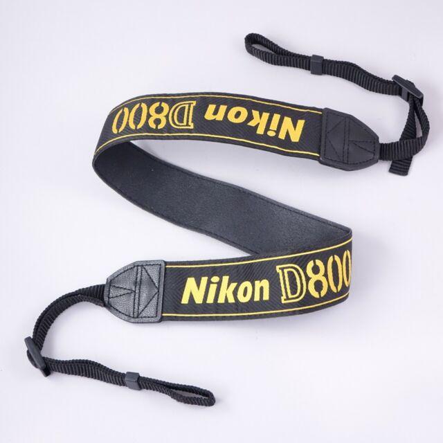 Genuine Nikon AN-6W Wide Nylon Neck Strap for Camera Neckstrap