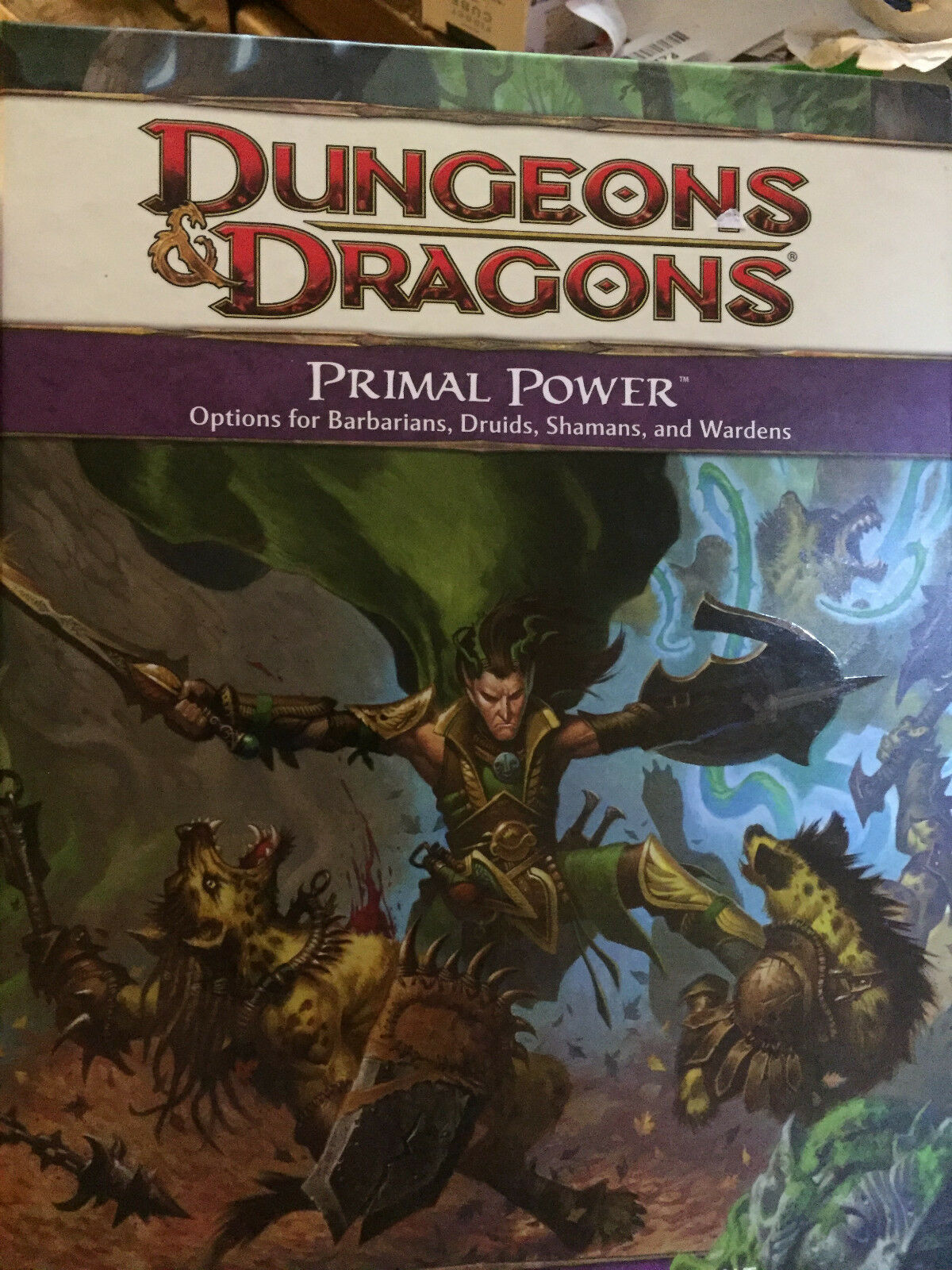 Primal Power HC Dungeons & Dragons RPG Fourth (4) Edition NEW HARDCOVER