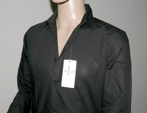 Jack /& Jones PREMIUM JPR Gabriel L//S Plain Herren Hemd Langarm XS S M L XL Black