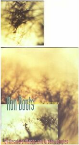 """RON BOOTS Of Desolate Places &Urban Jungles 3"""" MINI DISC Ambient/Electronic—#'d"""