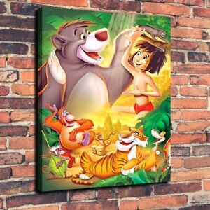 Details About Oil Painting Print On Canvas Disney The Jungle Book Wall Art Unframed Decor Fine