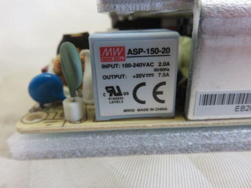 New in factory Packaging NEW Mean Well MW ASP-150-20 Power Supply