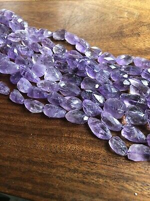 16 Natural Amethyst Nugget Beads For Jewellery Making large Amethyst Beads,