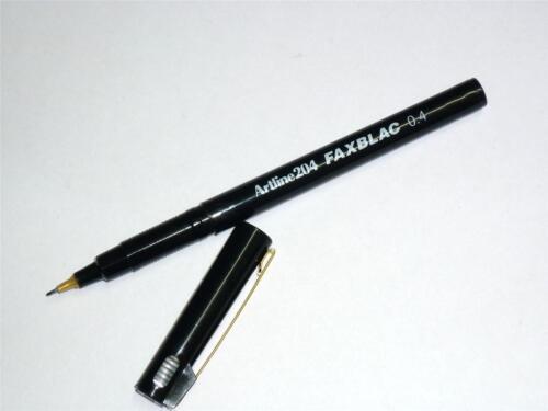Artline 204 FAXBLAC pen marker 0.4mm EK-204 FAX Artline204