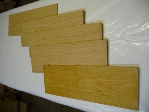 Kirsche Sägefurnier;  52x17x0,5 cm; 1 Stck sägerau; Artnr 161
