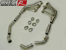 OBX Exhaust O Ports Header Fits 92 93 94 95 96 97 Corvette 5.7L LT1 LT4