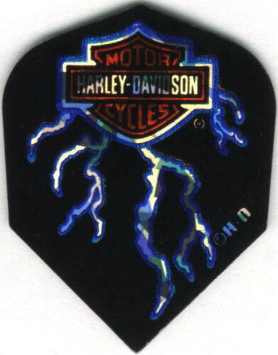 3 per set Harley-Davidson Lightning Strike Dart Flights