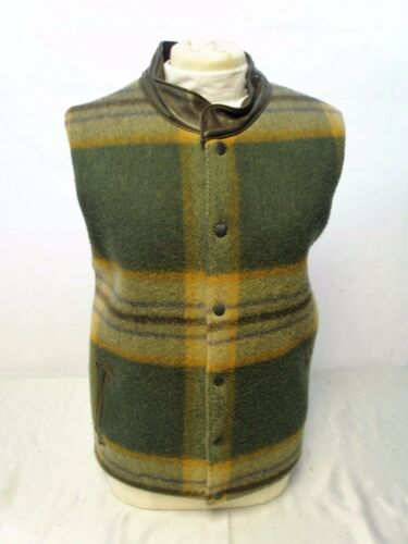 Originals interno in pelle trapuntato con in collo e lana tweed gilet Shire's dxw67d