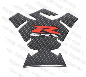 Good 3D Carbon Fiber Fuel Tank Pad Protector Sticker For Suzuki GSXR 600 750