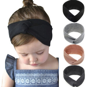 Newborn-Toddler-Kid-Baby-Girls-Solid-Knot-Turban-Headband-Headwear-Accessories