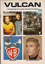 Vulcan UK Magazine Vol 2#1 BEVERLY HILLBILLIES,STAR TREK,MAN IN A SUITCASE