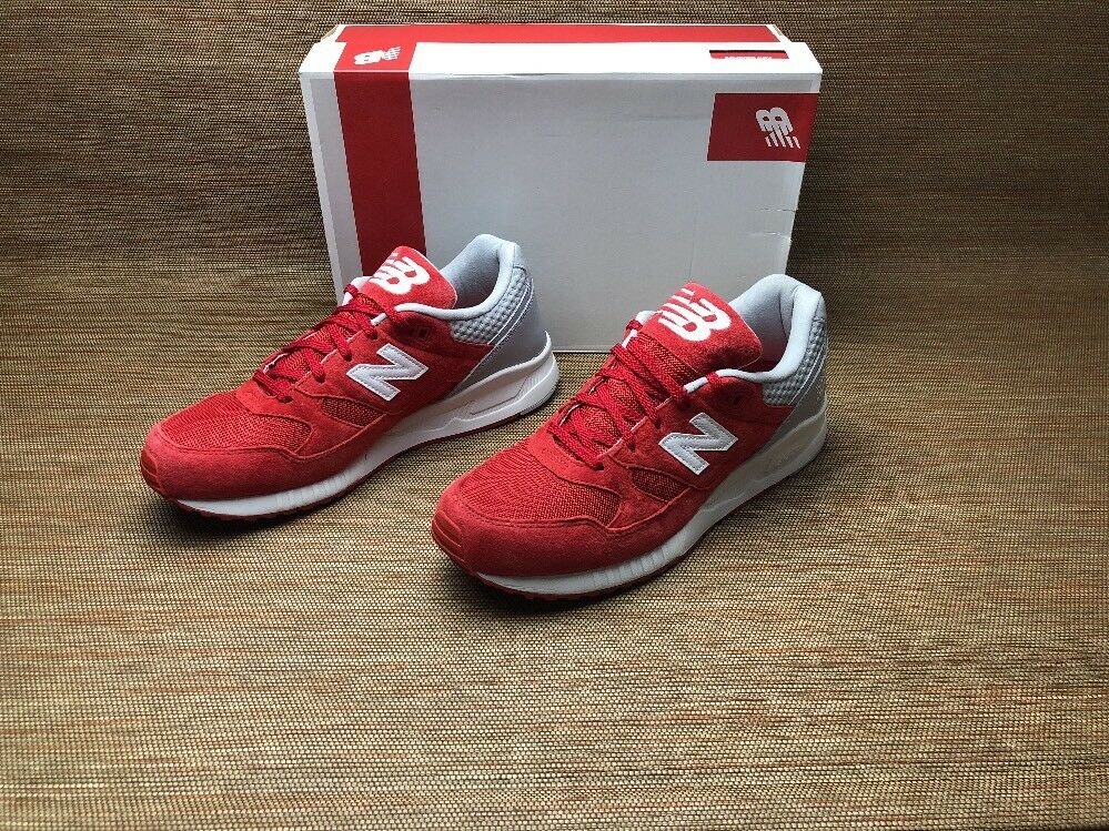 New Balance 530 M530SPC Red Grey Running Lifestyle Sneaker Brand New Complete