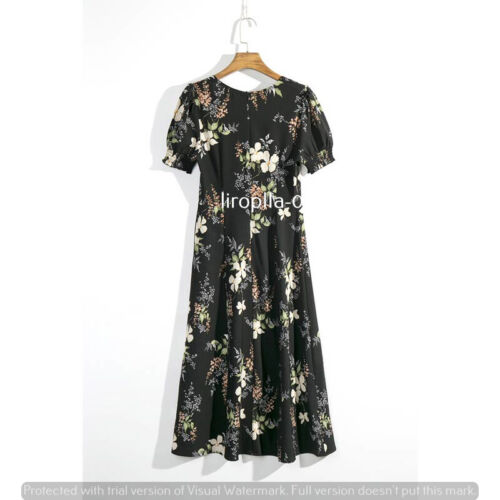 Women/'s Fall Winter Boho vintage Evening Party Beach Dresses check size chart