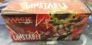 Unstable Booster Packung Magic: The Gathering Englisch