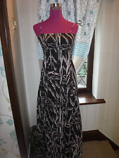 Beautiful All Saints Bandini Maxi Dress Brown Size 8 Excellent Condition