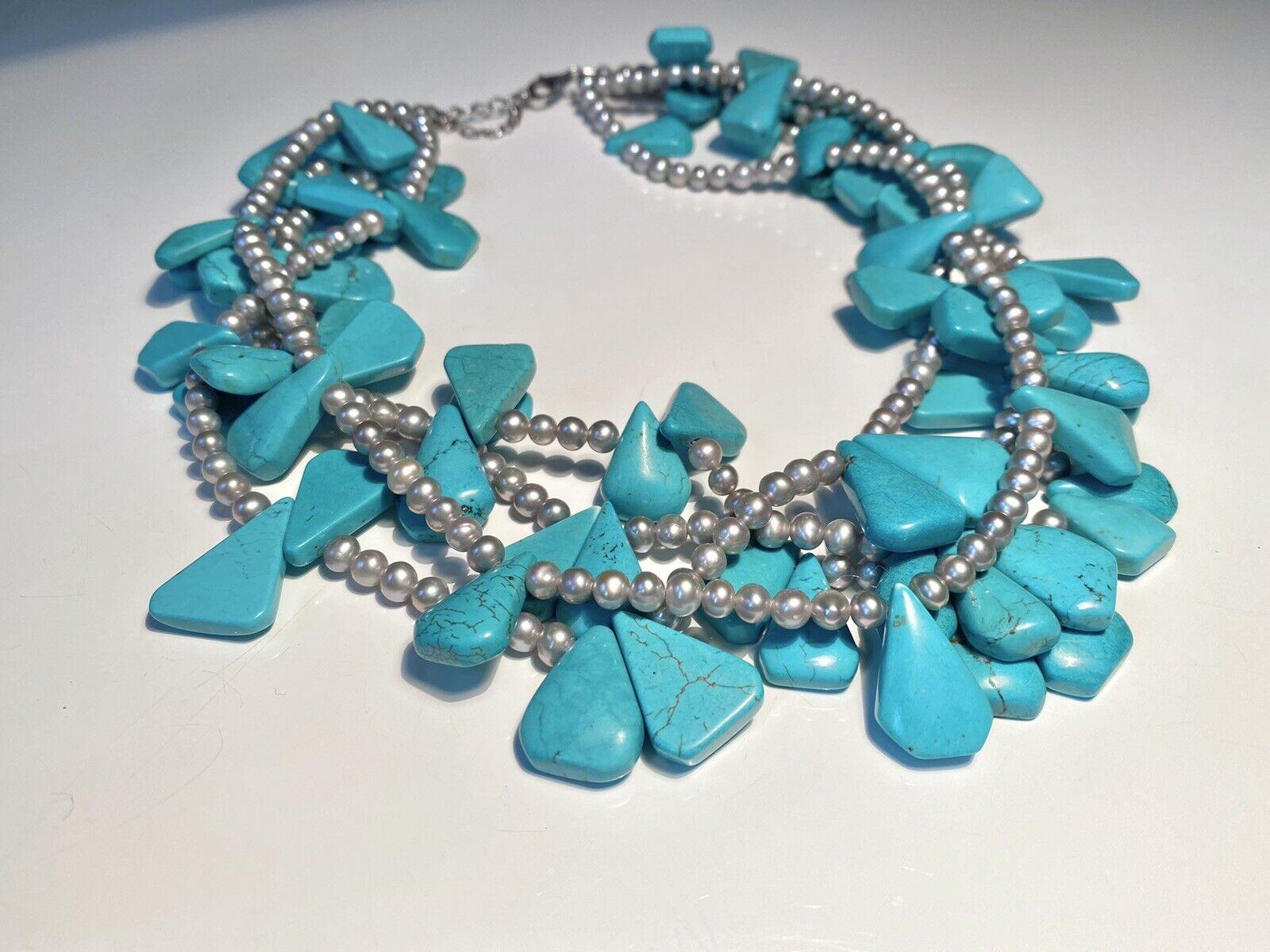Diana Venezia Turquoise Necklace - image 6
