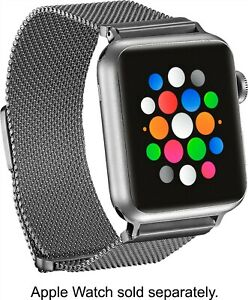 Platinum-Magnetic-Stainless-Steel-Mesh-Band-for-Apple-Watch-38mm-40mm-Silver