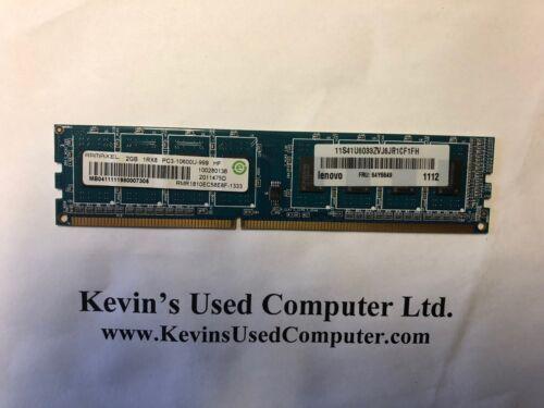 64Y6649 Ramaxel 2GB DDR3 1RX8 PC3-10600U-999 DESKTOP RAM Lenovo M58 FRU
