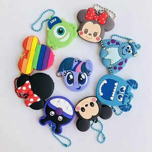 mickey-minnie-aliens-Key-Met-gift-Cover-key-chain-decorate-keyring-new