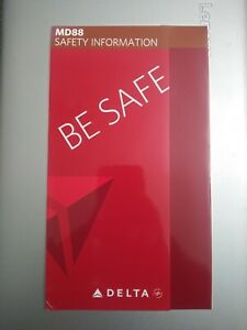 Delta-Airlines-MD-88-Safety-Card