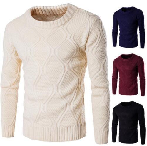 Suéter calientes de punto Blusas redondo G616 Cuello Tops hombre Casual Jersey Moda para q4wUfOTxOt