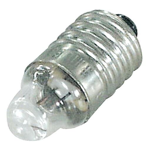 Miniatur 1x NF Breitlinsen Glühlampe; 2,2 V DC; 0,25 A; E10//13; Linsen-Lampe