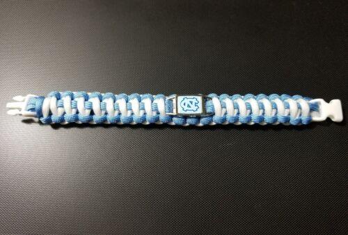 UNC University of North Carolina Tar Heels paracord bracelet